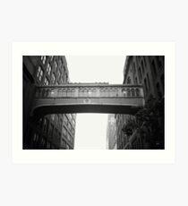 Marché de Chelsea Skybridge - New York City Impression artistique