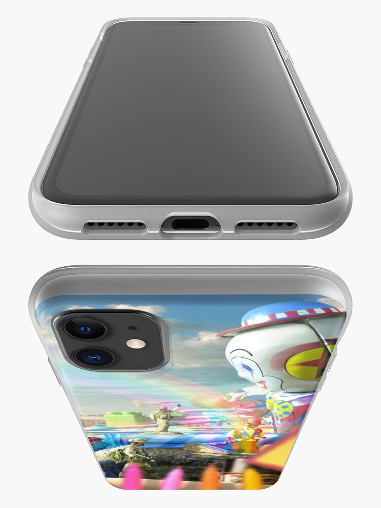 Alternate view of Clown Wasteland - trippy, surreal art iPhone Case & Cover