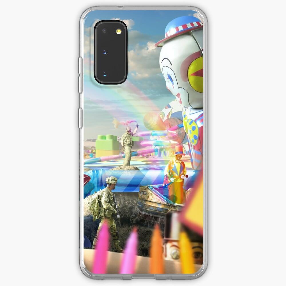 Clown Wasteland - trippy, surreal art Case & Skin for Samsung Galaxy