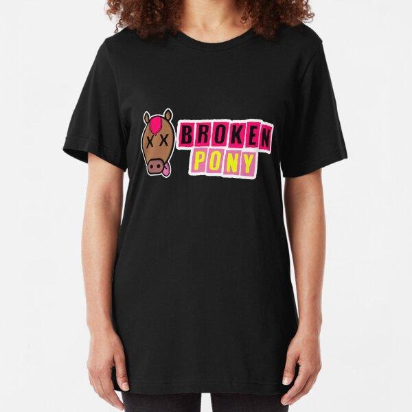 Broken Pony Slim Fit T-Shirt