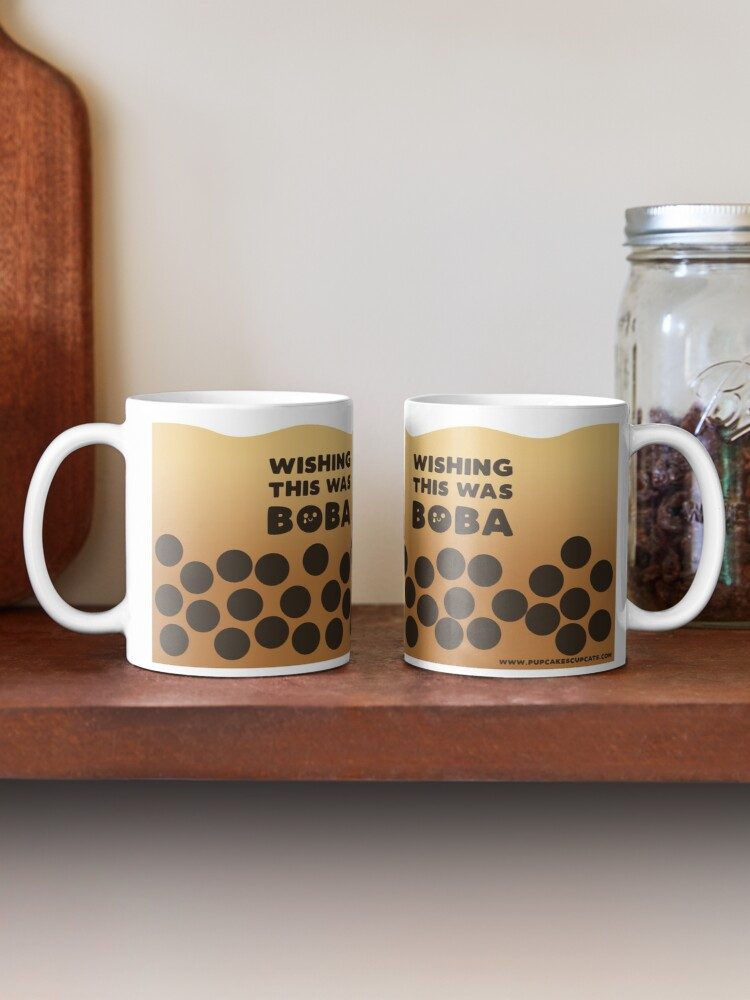 Alternate view of Wishing this was Boba Tea Mug