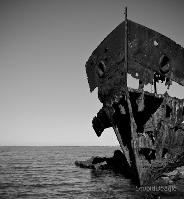 HMQS Gayundah Wreck by StupidBeagle