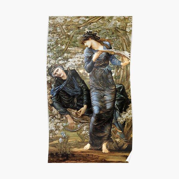 The Beguiling of Merlin - Edward Burne-Jones 1872 Poster