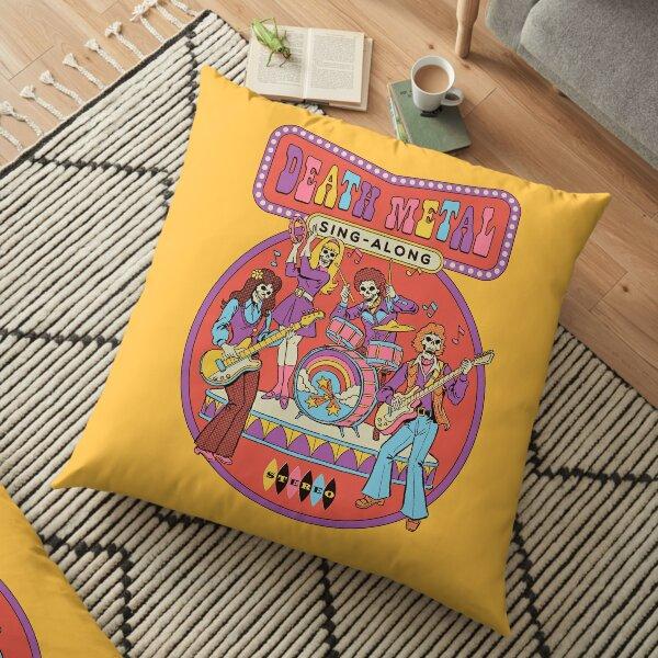 Death Metal Sing-Along Floor Pillow