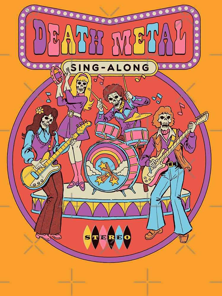 Death Metal Sing-Along by stevenrhodes