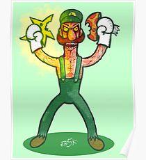 Luigi Lunacy Poster