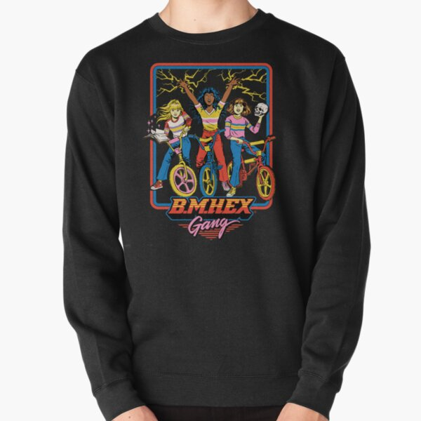 B.M.Hex Gang Pullover Sweatshirt