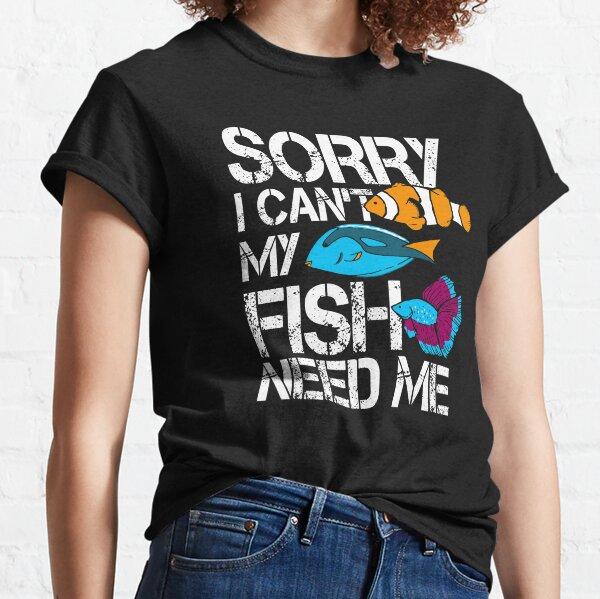 Aquarium Gift Aquarist Tank Addiction Fish Keeping Lover Classic T-Shirt