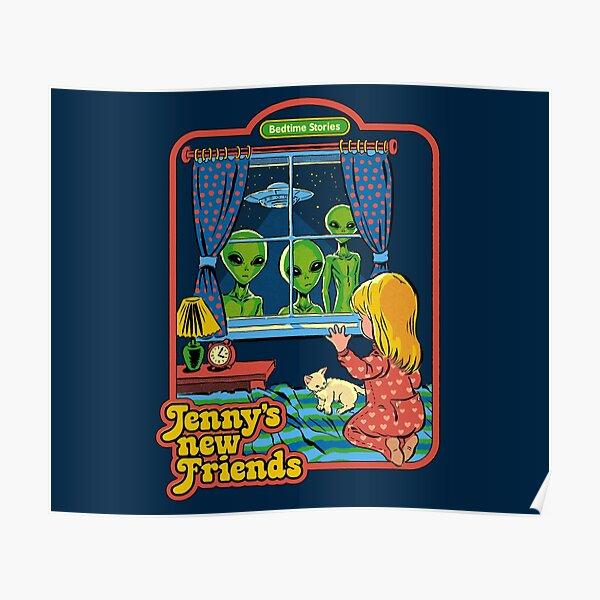 Jenny's New Friends Poster