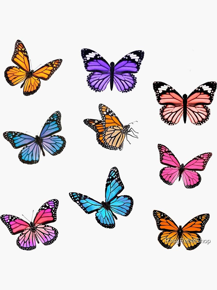 Butterfly Sticker Set by RosyRebelShop