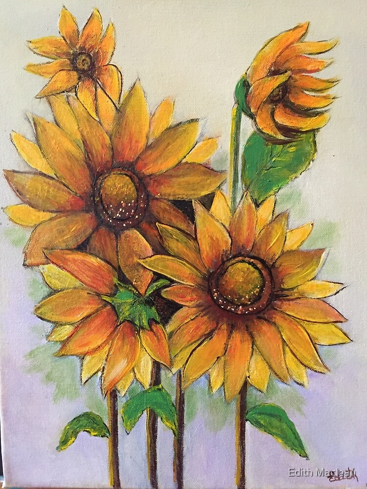 Sunflowers by Edith Maclean