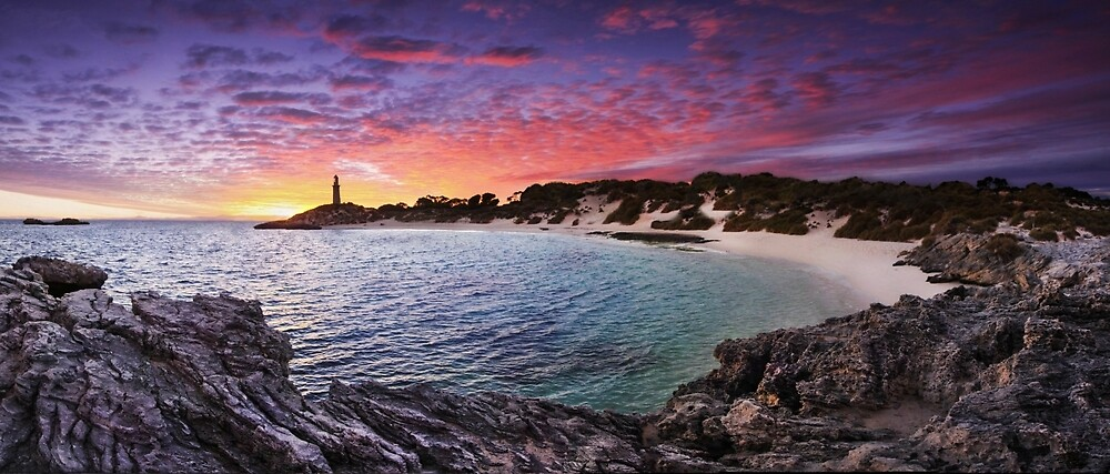 Bathurst Point, Rottnest Island by Marc Russo