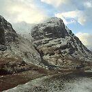 Glen Coe, Winter by Dean Bailey