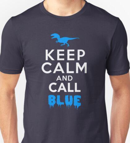 Keep Calm and Call Blue   Raptor T-Shirt