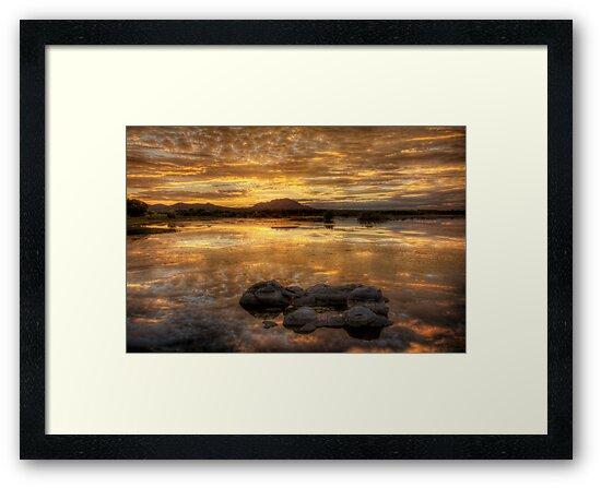Evening Glow by Bob Larson