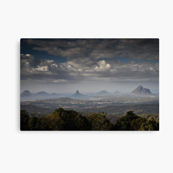 glass house mountains, queensland, australia Canvas Print