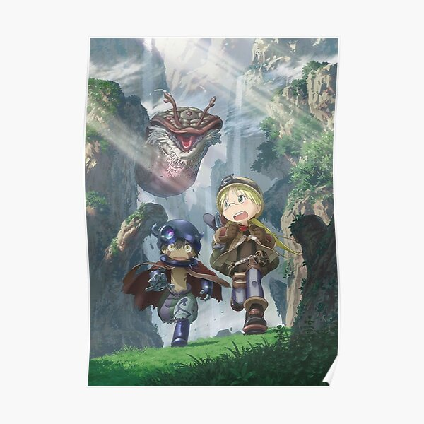Made in Abyss - Riko / Reg Poster