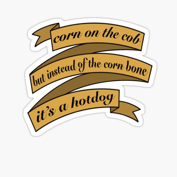 Corn Bone Sticker Sticker