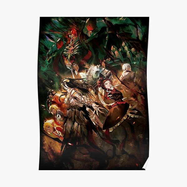 Overlord - The Floor Guardians Poster