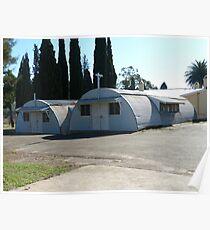 Nissen Huts, Scheyville Camp Poster