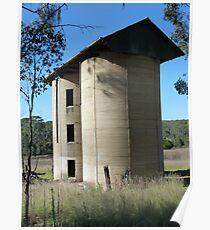 Double silos, Scheyville Camp Poster