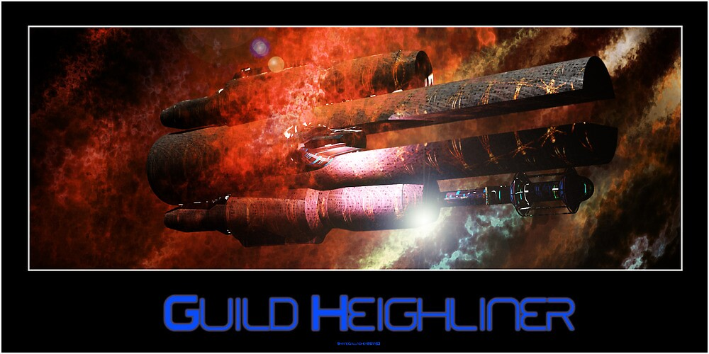 Guild Heighliner by Shane Gallagher
