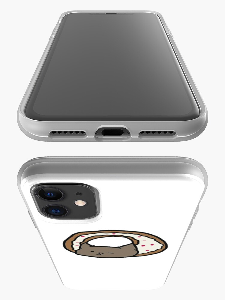 Alternate view of cat donut iPhone Case & Cover