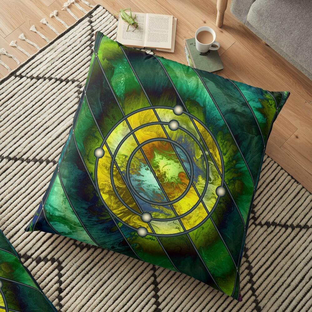 Element 6: Carbon Floor Pillow