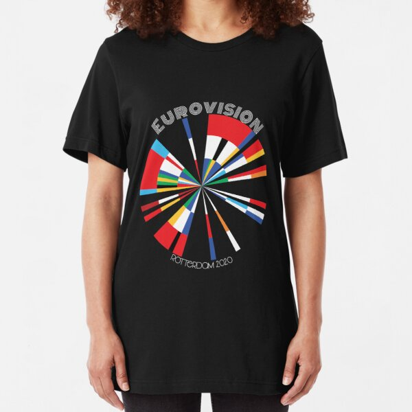 Eurovision 2020 Slim Fit T-Shirt