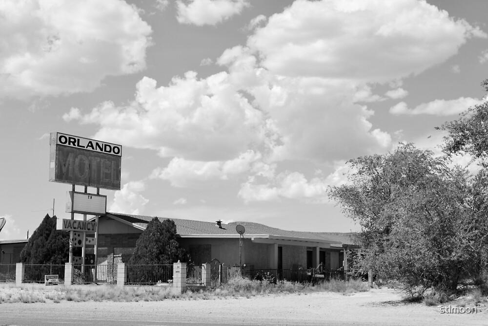The former Orlando Motel, Route 66, Arizona by stlmoon