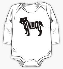 Bulldog Black Kids Clothes