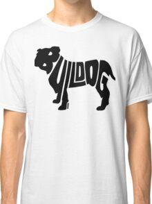Bulldog Black Classic T-Shirt