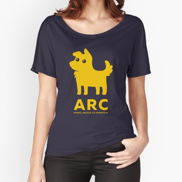 The original ARC Pup - in yellow Relaxed Fit T-Shirt