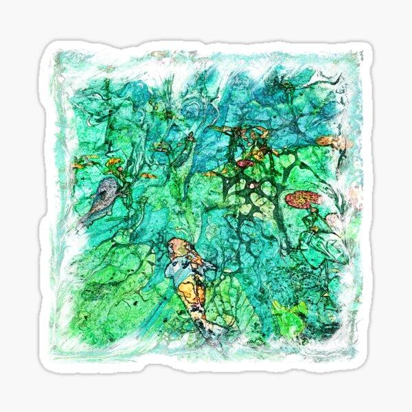 The Atlas of Dreams - Color Plate 225 Sticker
