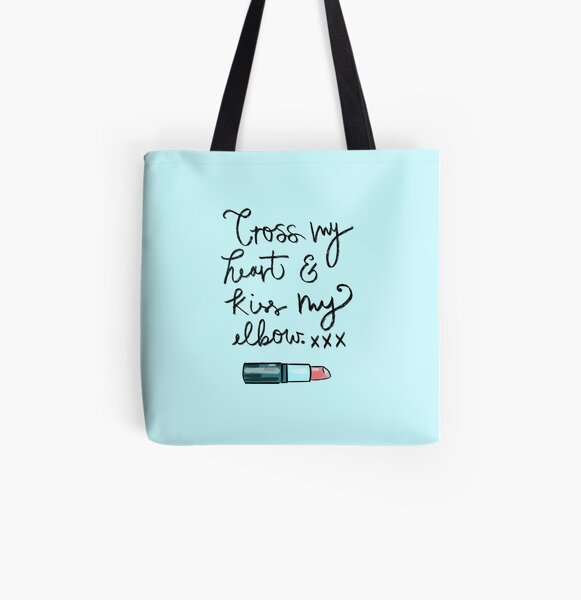 Holly Promise All Over Print Tote Bag