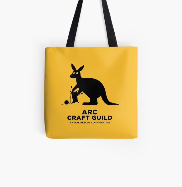 ARC Craft Guild gear: Pillows, Hangings, Stickers! Stuff for your pool room or shelter All Over Print Tote Bag