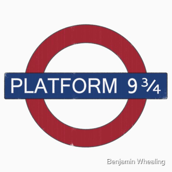 TShirtGifter presents: Platform 9 3/4