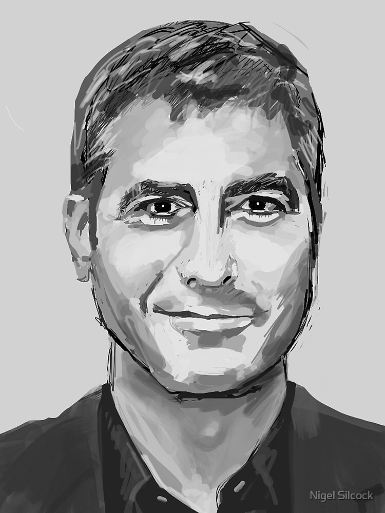 George Clooney by Nigel Silcock