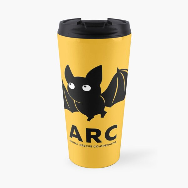 Norm the ARC BAT gear: Pillows, Hangings, Stickers! Stuff for your pool room or shelter Travel Mug