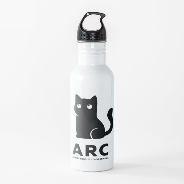 ARC Cat gear: Pillows, Hangings, Stickers! Stuff for your pool room or shelter Water Bottle