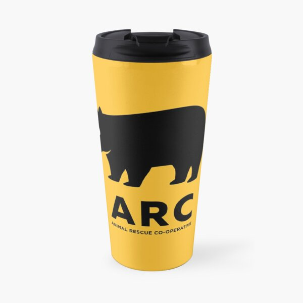 ARC Wombat gear: Pillows, Hangings, Stickers! Stuff for your pool room or shelter Travel Mug