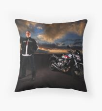 Riders of the Storm II Throw Pillow