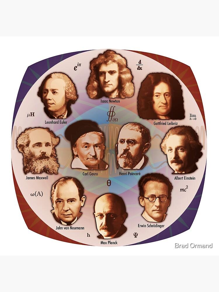 Some Math, Physics, and Quantum Mechanics Greats by BradOrmand