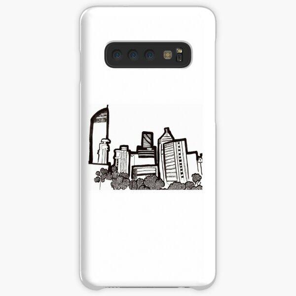 Brisbane City Skyline - View from Kangaroo Point Samsung Galaxy Snap Case
