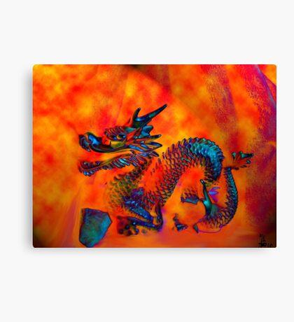 Dragon of Fire Canvas Print