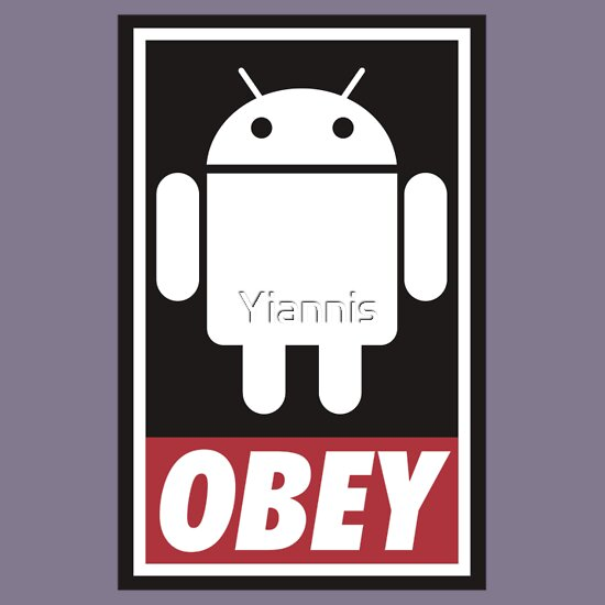TShirtGifter presents: Obey the Android A