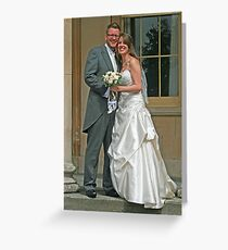 Mr & Mrs Fisher Greeting Card