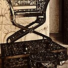 Cast Iron Shoe Shine Throne by RatManDude