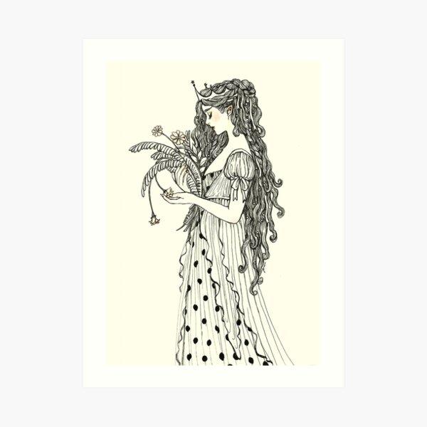 Fada Art Print