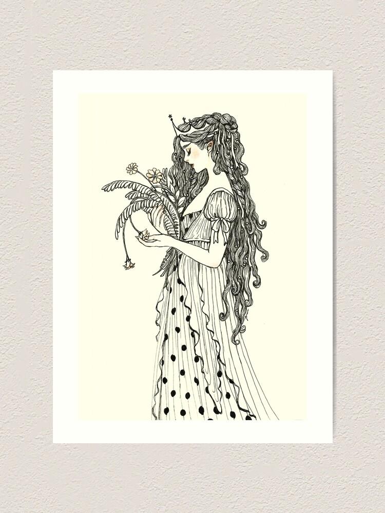 Alternate view of Fada Art Print